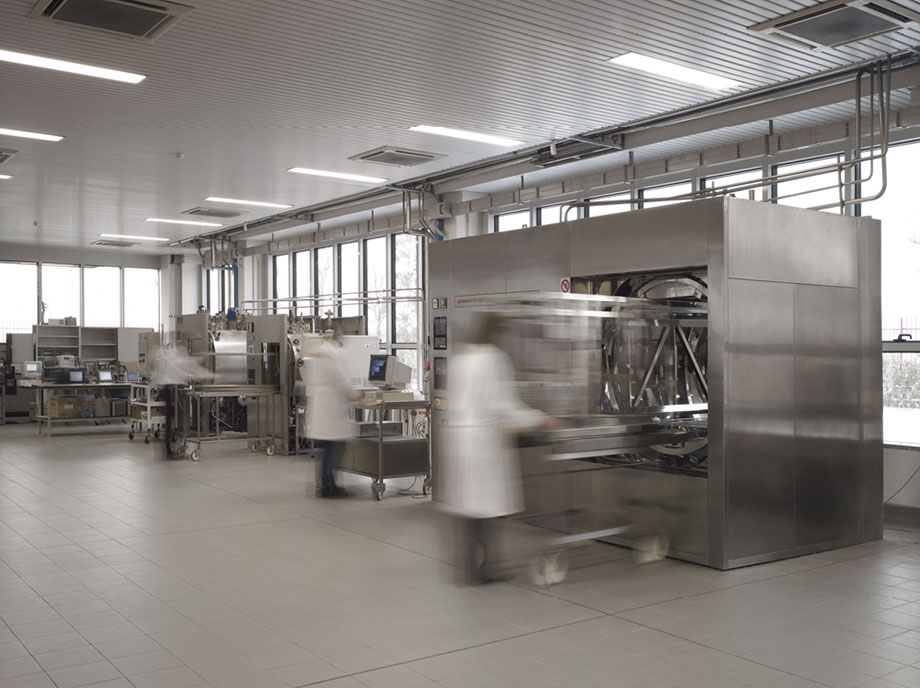 Image of Fedegari's technology center in Italy