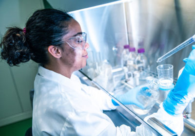 Lee biopharmaceutical company manufactures treatments to aid in fight against coronavirus pandemic