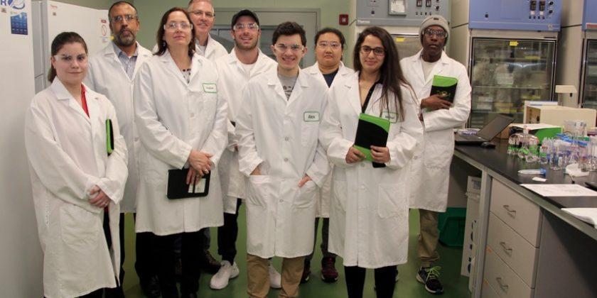 BSM Hosts Biotech Students