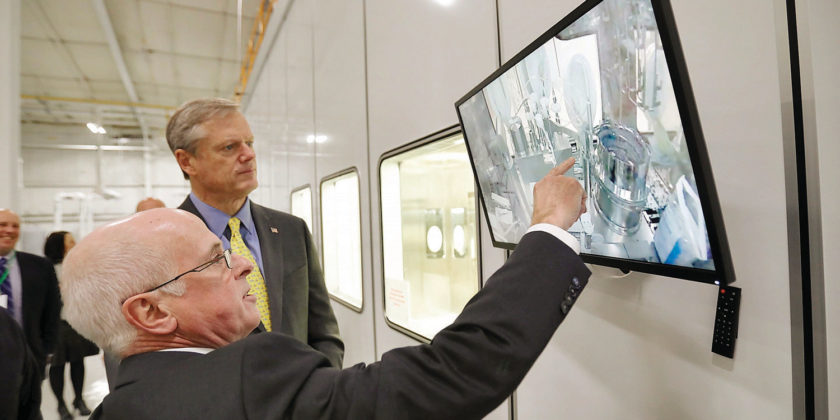 Governor Baker Visits Berkshire Sterile