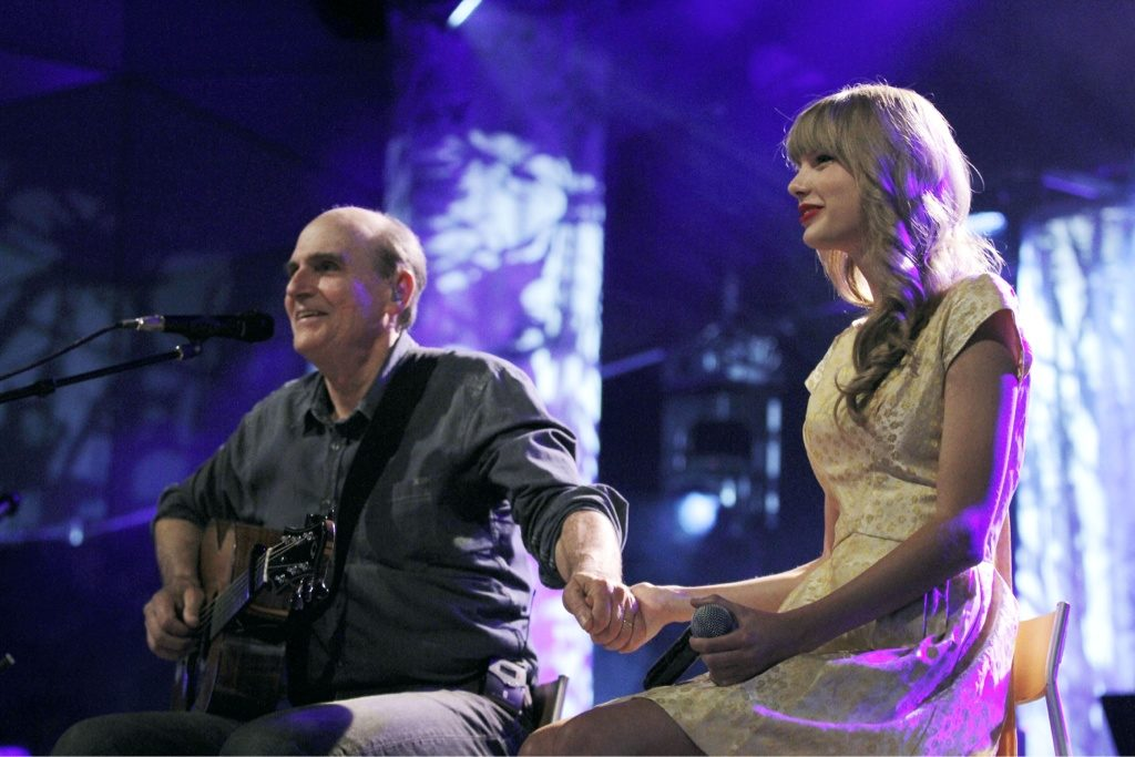 James Taylor and Taylor Swift - Berkshires
