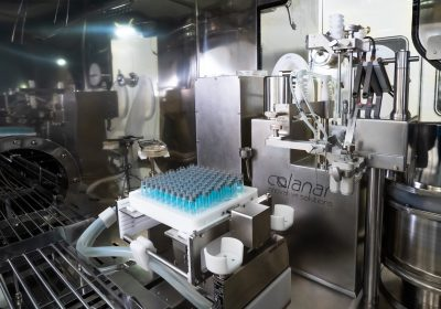 Berkshire Sterile Manufacturing installs a new filling system in their isolator-based filling line
