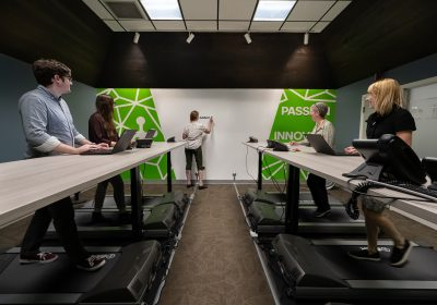 Berkshire Sterile Manufacturing Gets a New Walking Conference Room